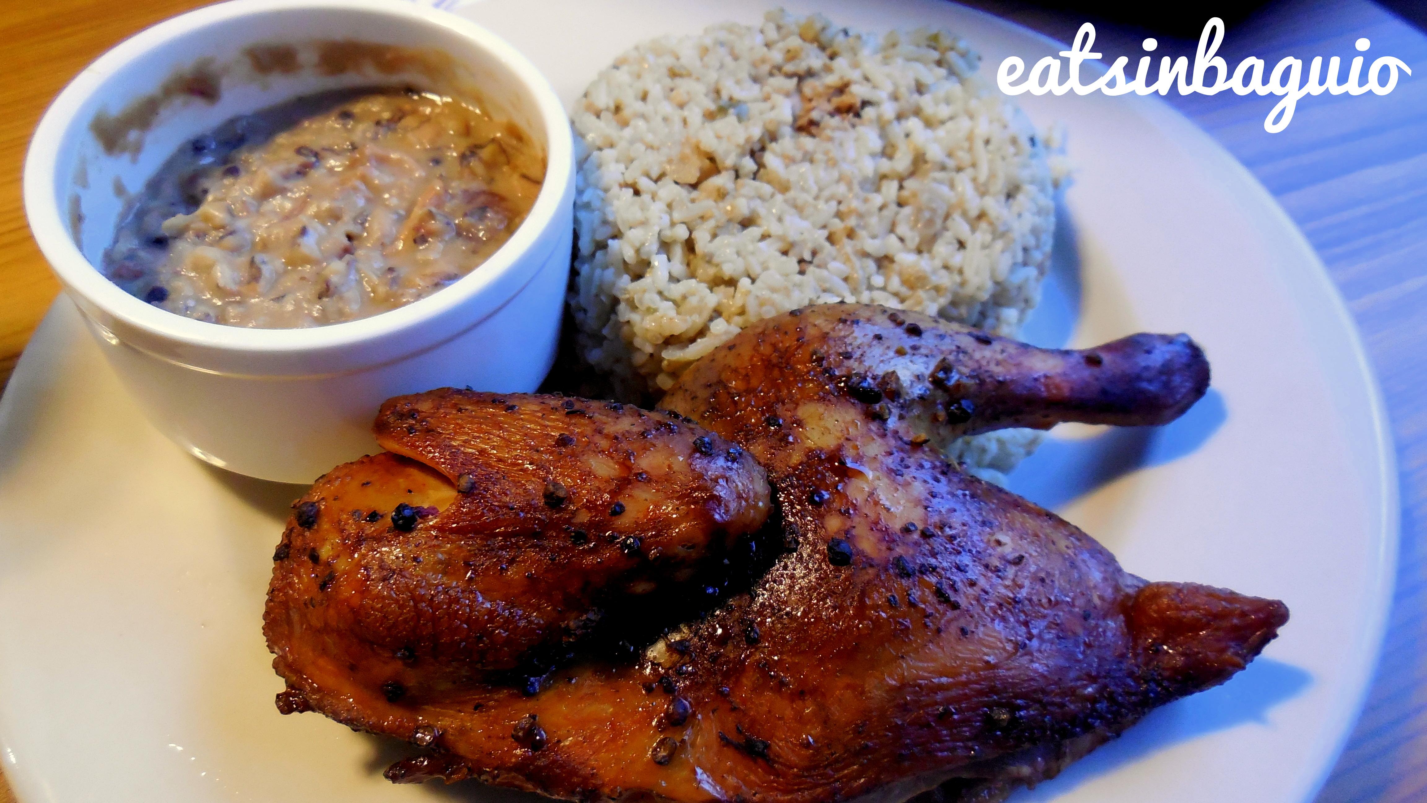 Hickory Smoked Chicken with Dirty Rice and Smokin' Joe